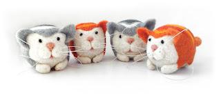Arte con gatos de la artista e ilustradora Mary Derbach