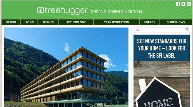 TREEHUGGER : Blog Tentang Lingkungan Yang Menunjukkan Jumlah Artikel Yang Terbit Berpengaruh Pada Peringkat