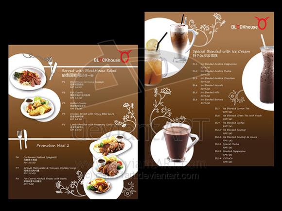 mẫu thiết kê menu đẹp