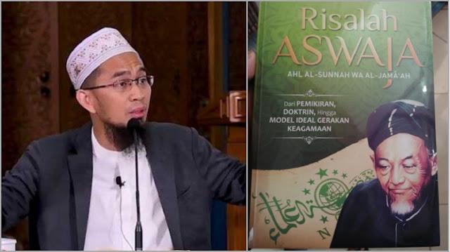 Ustadz Adi Hidayat Ungkap Fatwa KH Hasyim Ashari soal Aliran Sesat, Bahas Orang yang Ikut-ikutan ke Gereja