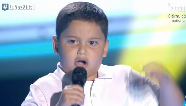 Steven: La Ley del Monte |  Audiciones a ciegas La Voz Kids