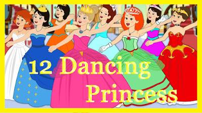 12 Dancing Princesses - Short Story for Kids