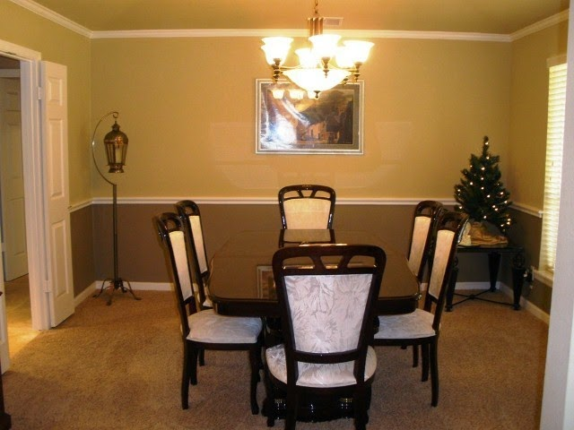 Wall paint ideas for dining room for Dining room paintings