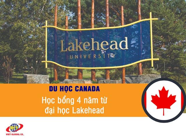 Du hoc Canada: Học bổng 4 năm lên đến 30,000 CAD từ đại học Lakehead