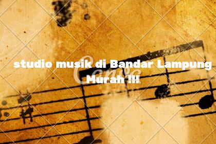 8 Tempat Studio Musik Terbaik dan Paling Populer di Bandar Lampung