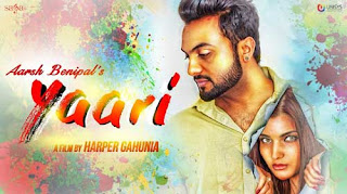 Yaari Lyrics | Aarsh Benipal | R Guru