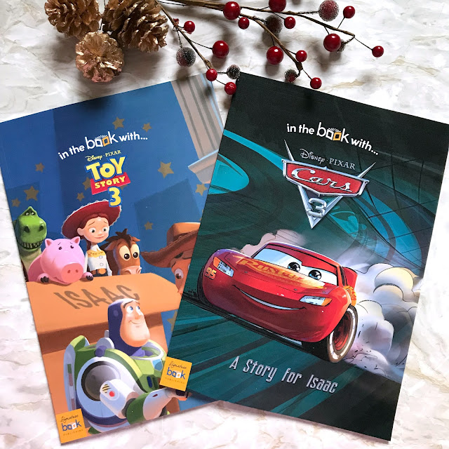 Christmas Gift Idea's - Personalised Books With I Just Love It