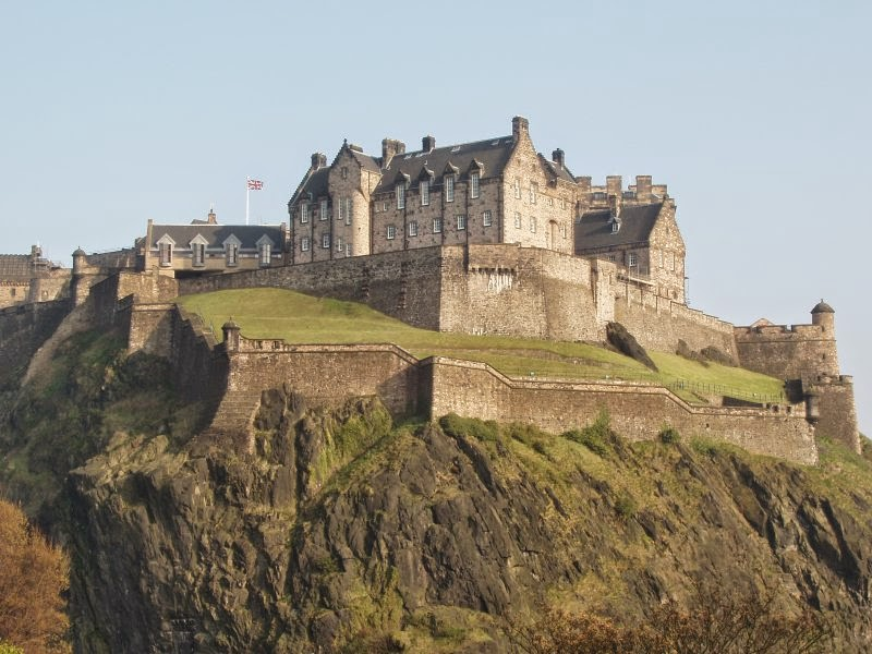 Edinburg Kalesi Laneti - İskoçya