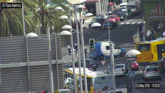 Muere hombre 80 años atropellado por un camión en Las Palmas de Gran Canaria