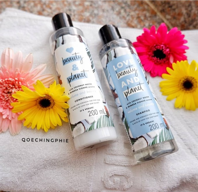 Review Produk : Love Beauty and Planet Shampo dan Conditioner, shampoo dengan klaim ramah lingkungan