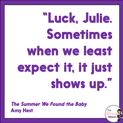 The Summer We Found the Baby is a sweet historical fiction read narrated by two sisters, Julie and Martha, and their summer neighbor, Bruno. Julie and Martha find a baby outside of the library off the beach town they are staying in for the summer. Through a series of loosely connected vignettes, the identity of the baby and how and why it appeared at the library are slowly revealed. Read on for more of my review and ideas for classroom application.