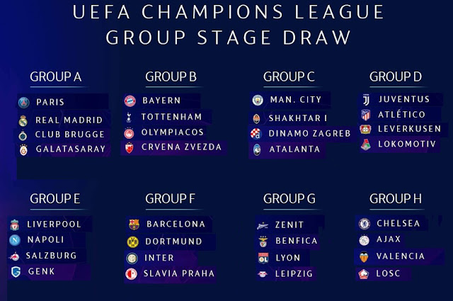Champions League: UEFA Champions League Fixtures