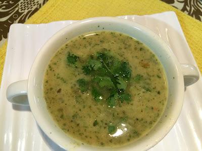 Dal shorba or Lentil soup with Garlic Recipe