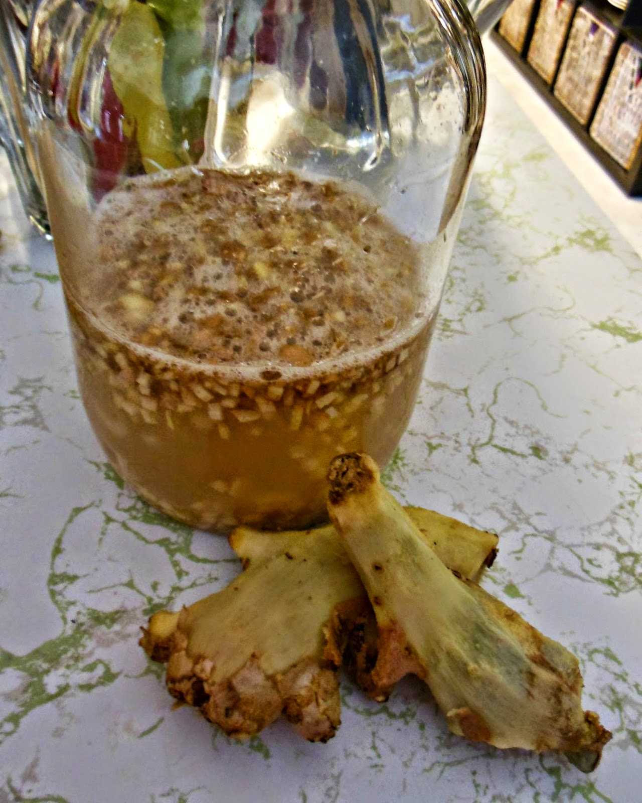Hot to make Homemade Ginger Ale.