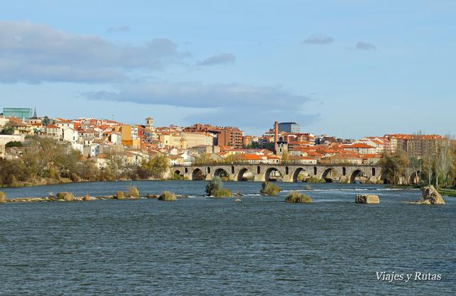 Puente de Olivares y Puente de Piedra, Río Duero, Zamora