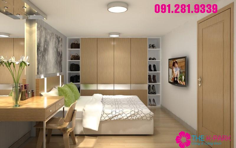 Thiết kế căn hộ The K-Park phong cách Hàn Quốc