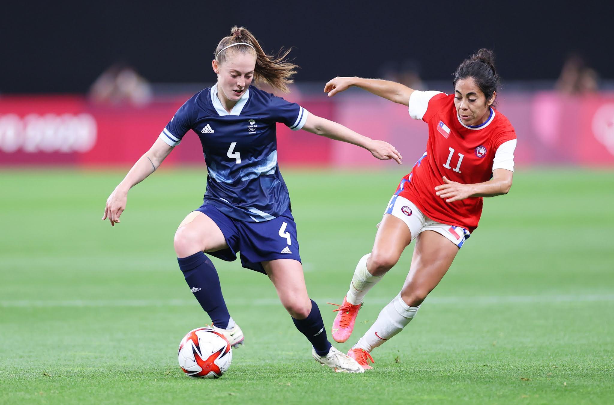 Gran Bretaña y Chile en Juegos Olímpicos de Tokio 2020, 21 de julio de 2021