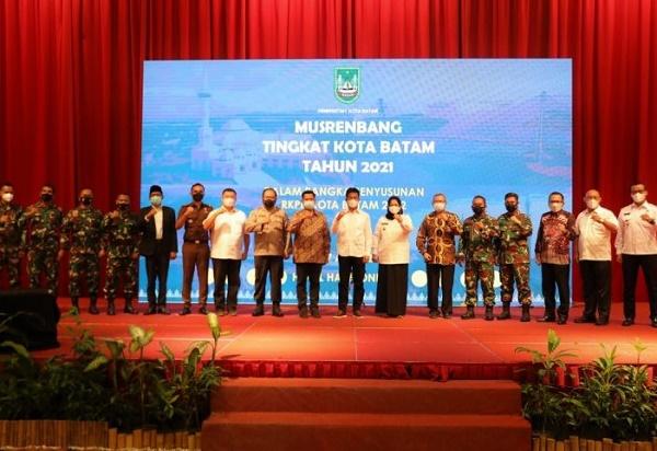 Musrembang Kota Batam, Diikuti Perwakilan Masyarakat dari 12 Kecamatan