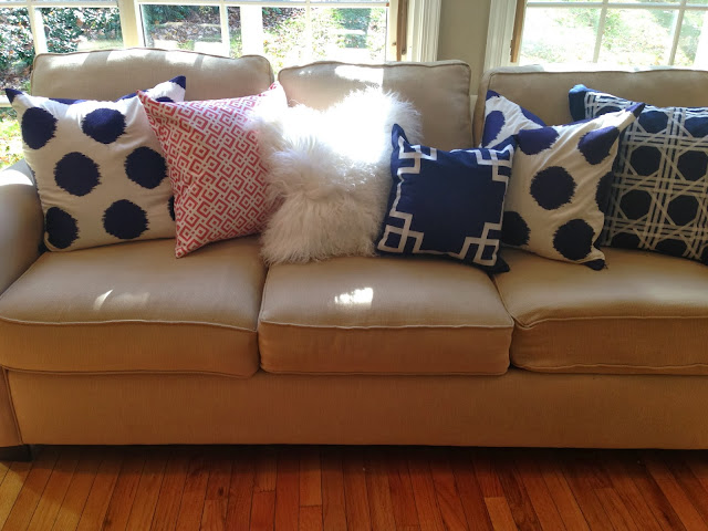Stephanie Kraus Designs Blue And White Living Room A: Stephanie Kraus Designs: What A Difference A Little Awning