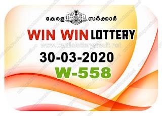 Kerala Lottery Result 30-03-2020 Win Win W-558 kerala lottery result, kerala lottery, kl result, yesterday lottery results, lotteries results, keralalotteries, kerala lottery, keralalotteryresult,  kerala lottery result live, kerala lottery today, kerala lottery result today, kerala lottery results today, today kerala lottery result, Win Win lottery results, kerala lottery result today Win Win, Win Win lottery result, kerala lottery result Win Win today, kerala lottery Win Win today result, Win Win kerala lottery result, live Win Win lottery W-558, kerala lottery result 30.03.2020 Win Win W 558 March 2020 result, 30 03 2020, kerala lottery result 30-03-2020, Win Win lottery W 558results 30-03-2020, 30/03/2020 kerala lottery today result Win Win, 30/03/2020 Win Win lottery W-558, Win Win 30.03.2020, 30.03.2020 lottery results, kerala lottery result March  2020, kerala lottery results 30th March 2020, 30.03.2020 week W-558 lottery result, 30-03.2020 Win Win W-558Lottery Result, 30-03-2020 kerala lottery results, 30-03-2020 kerala state lottery result, 30-03-2020 W-558, Kerala Win Win Lottery Result 30/03/2020, KeralaLotteryResult.net, Lottery Result