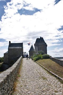 Via di accesso alla Torre Solidor nella Cité d'Aleth