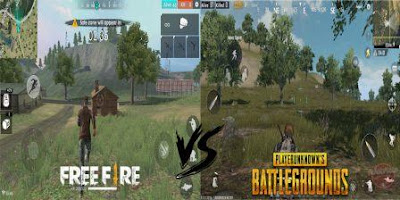 7 Different PUBG With Free Fire