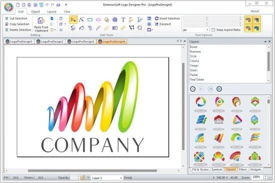تحميل برنامج تصميم الشعارات واللوجو Logo Designer Pro