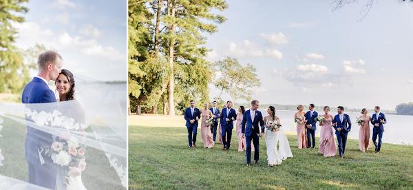 Summer Wedding at Brittland Manor photographed by Maryland Wedding Photographer Heather Ryan Photography