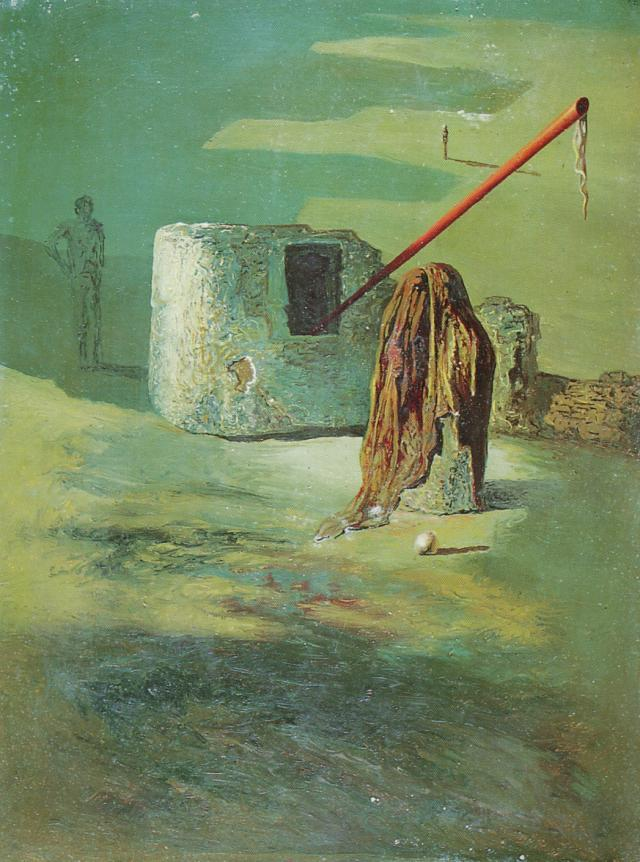 Solitary Dog Sculptor I: Painter: Salvador Dali - In ... |Salvador Dali Dog Paintings