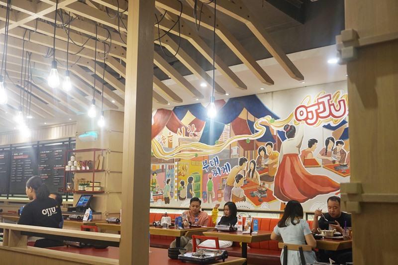 ojju kfood, ojju korean food, restoran ojju