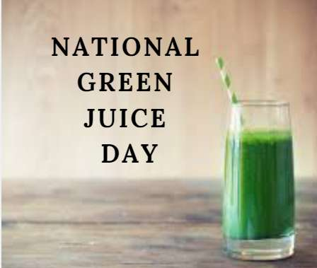 National Green Juice Day Wishes Awesome Picture
