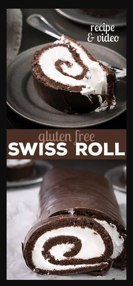 Gluten Free Swiss Roll Cake