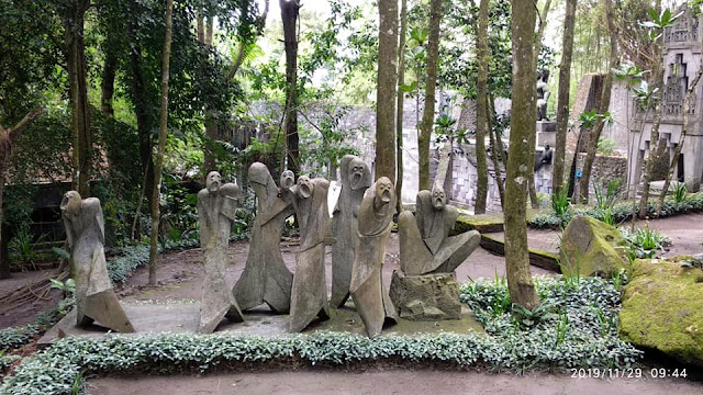Patung di Museum Ullen Sentalu Jogja