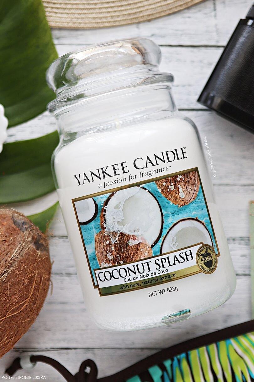 yankee candle coconut splash świeca zapachowa