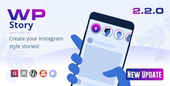 WP Story Premium v2.2.0 - Instagram Style Stories For WordPress