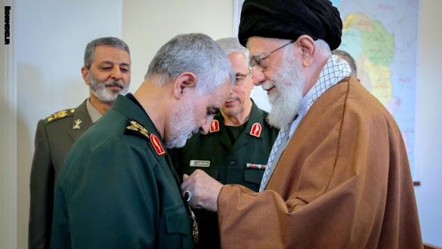 """ابنة قاسم سليماني تسأل روحاني """"من سينتقم لوالدي؟"""".. والرئيس الإيراني يرد"""
