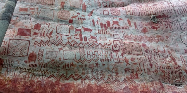 Colombia vows to protect prehistoric artwork in Amazon region