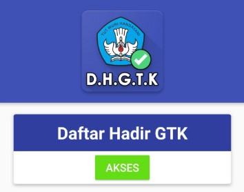 DAFTAR HADIR GTK ONLINE