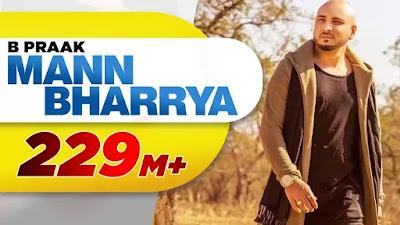 Mann Bharrya lyrics - B Praak in Hindi and English