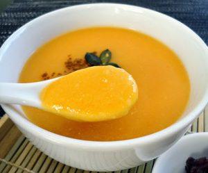 Resep MPASI Bubur Susu Labu Kuning