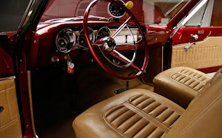 1963 Ford Fairlane 500 Thunderbolt Burgundy Color Re-Modified Interior