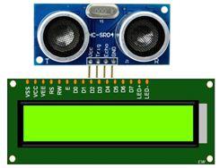Menampilkan jarak sensor ultrasonik di Lcd 16x2 Arduino