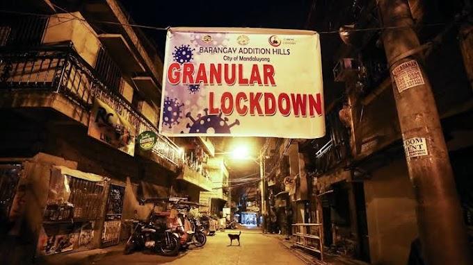 Abalos elaborates 4 levels for Granular Lockdown