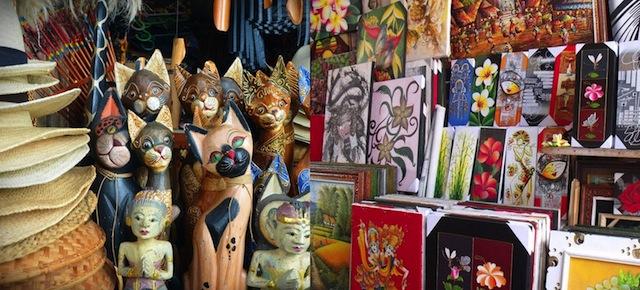 Pasar seni Badung di Bali