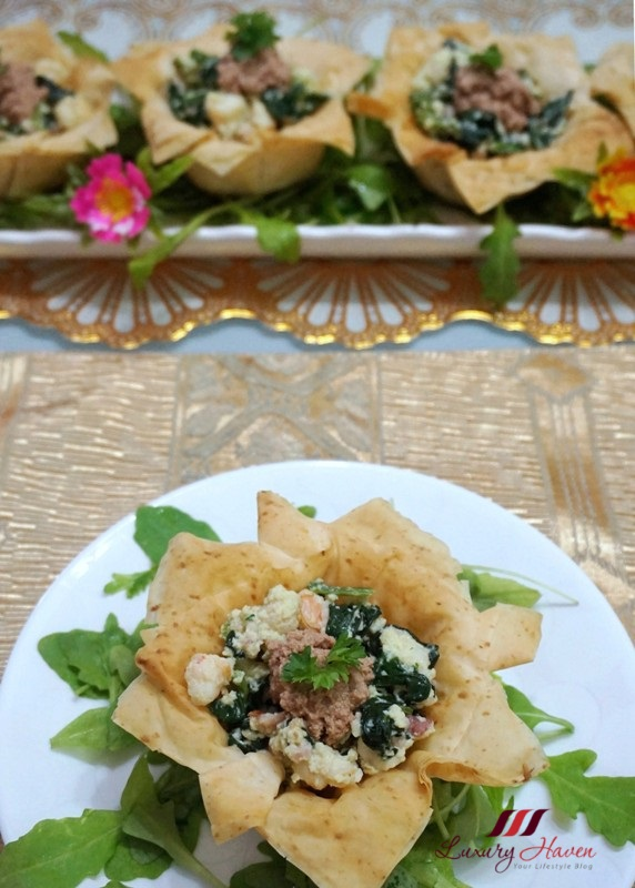 golden goose foie gras recipes filo cups