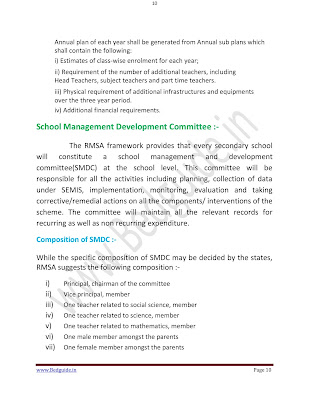 B.ed Notes on School Management PDF Download