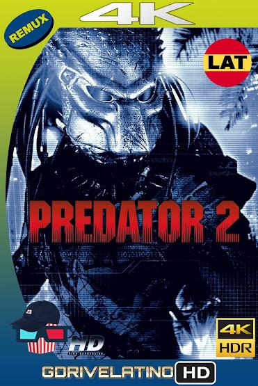 Depredador 2 (1990) BDRemux 4K HDR Latino-Ingles MKV