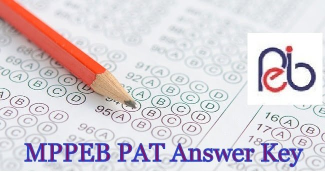MPPEB PAT Admission Answer Key 2019