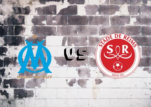 Olympique Marseille vs Reims  Resumen