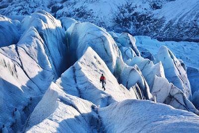Glaciar de Vatnajokull en nuestro recorrido de invierno
